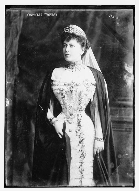 Countess Torbay, standing