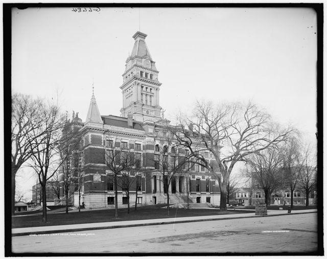 County court house, Ann Arbor, Mich.