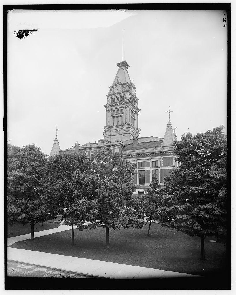 [Court house, Ann Arbor, Mich.]
