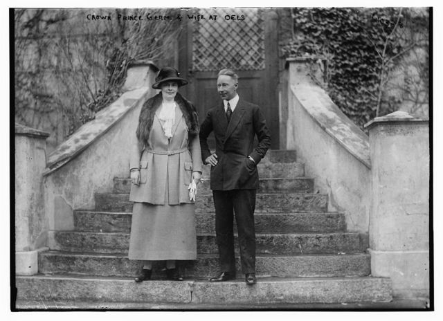 Crn. Prince of German And wife at Oels