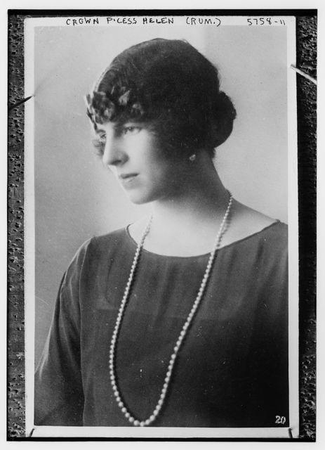 Crn. Princess Helen of Rumania