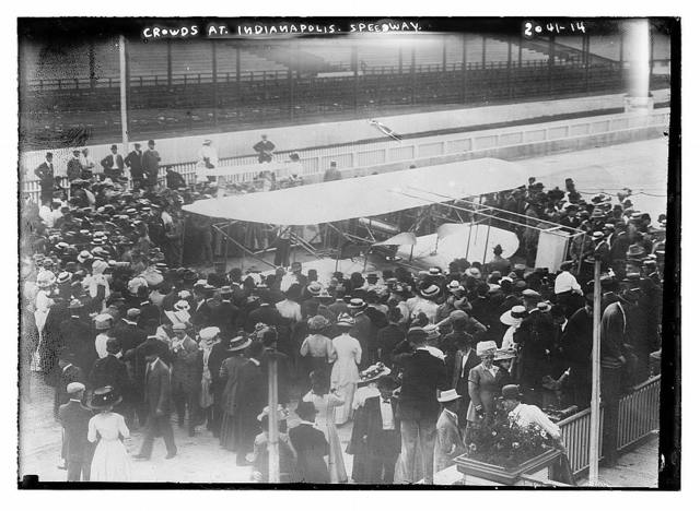 Crowds at Indianapolis Speedway