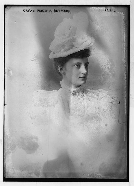 Crown Princess of Denmark, portrait bust