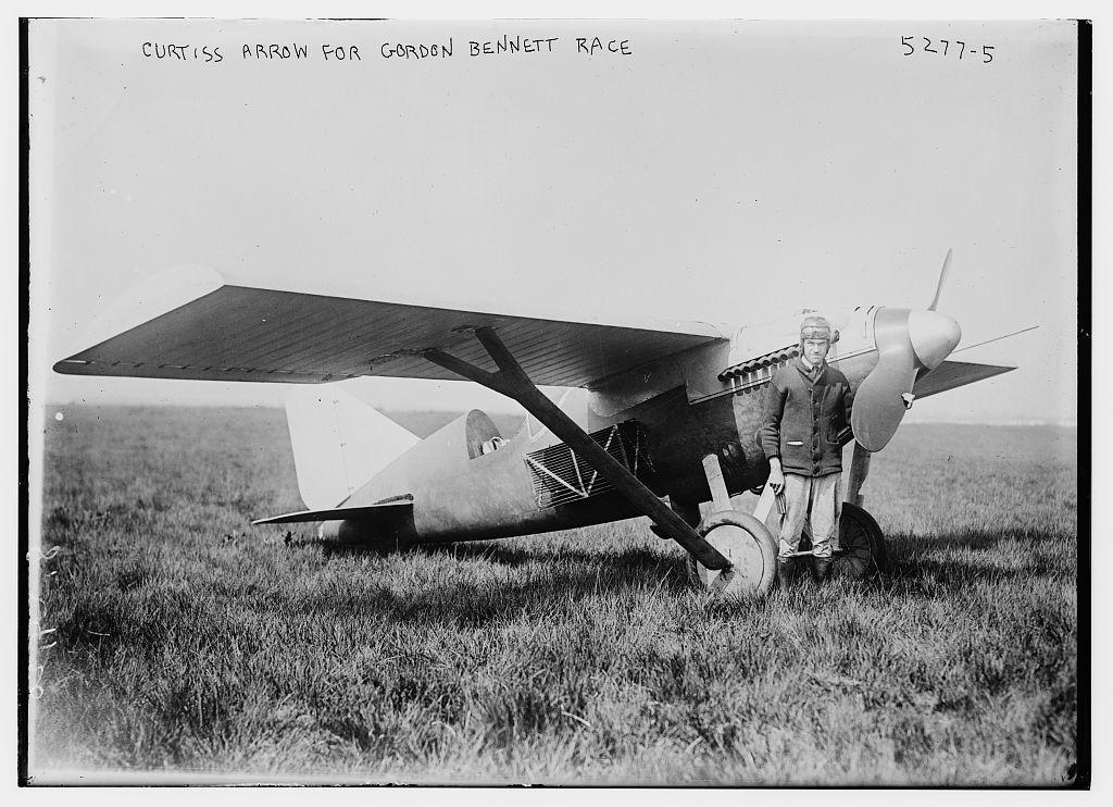 Curtiss Arrow for Gordon Bennett Race