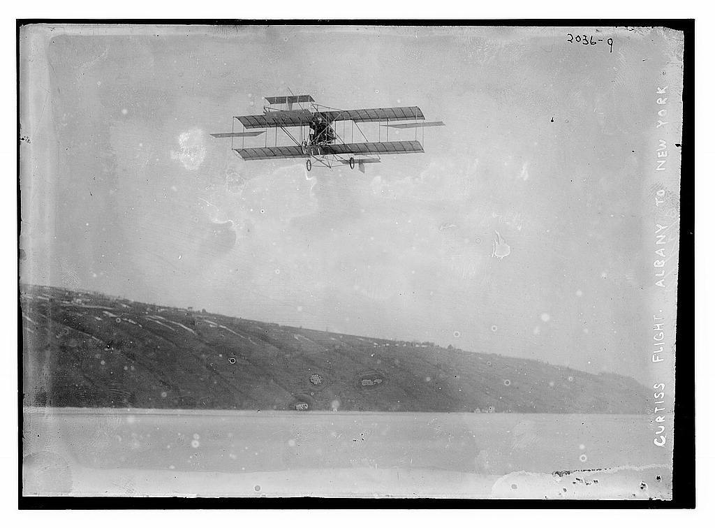Curtiss flight Albany to New York