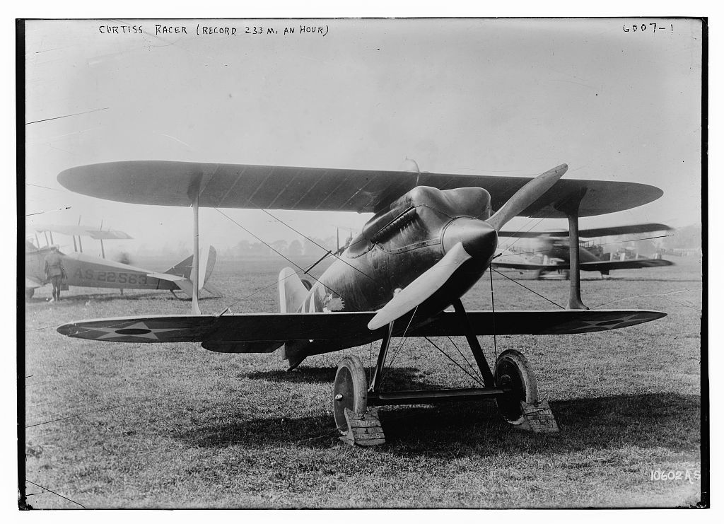 Curtiss Racer (Record 233 mi. per hr.)