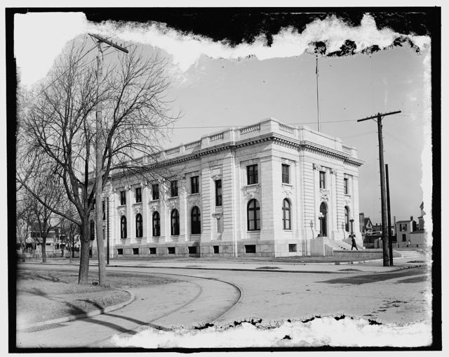 [Custom house and post office, Newport News, Va.]