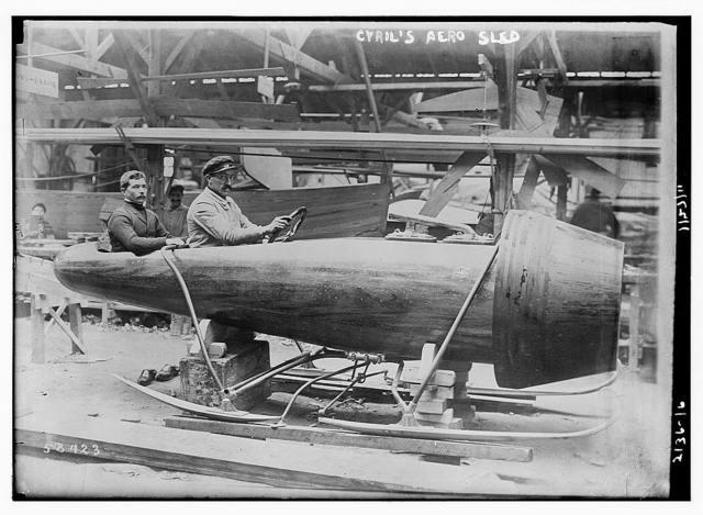 Cyril's aero sled
