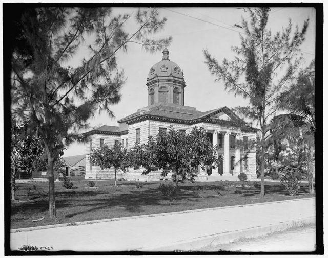 [Dade County Court House, Miami, Fla.]