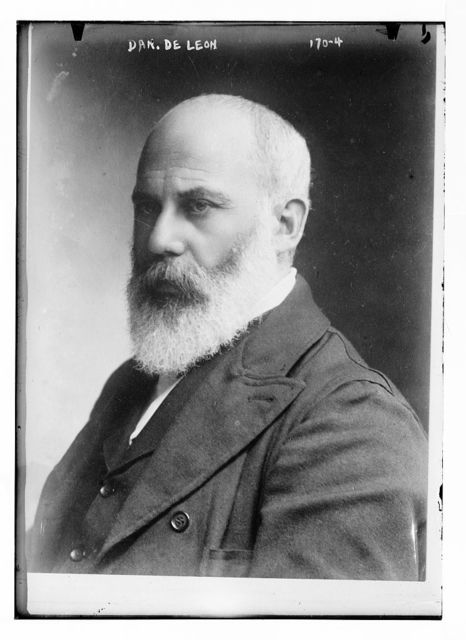 Dan. DeLeon, portrait bust