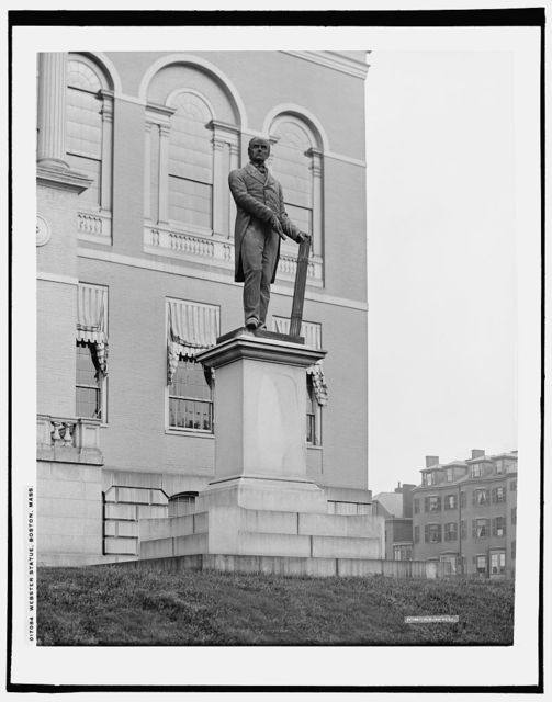 Daniel Webster Statue, State House grounds, Boston, Mass.