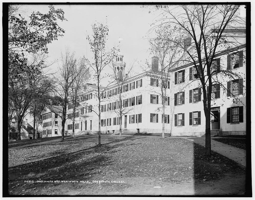 Dartmouth and Wentworth Halls, Dartmouth College