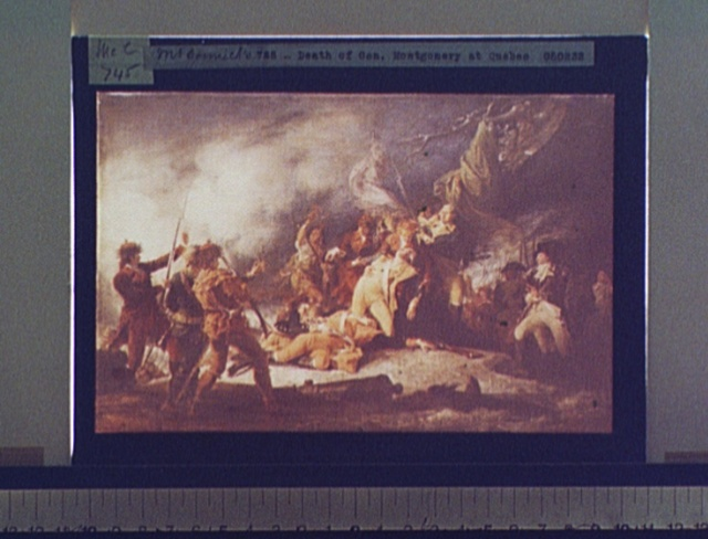 [Death of General Montgomery at Quebec]