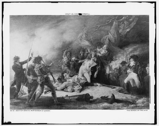 Death of General Montgomery at Quebec