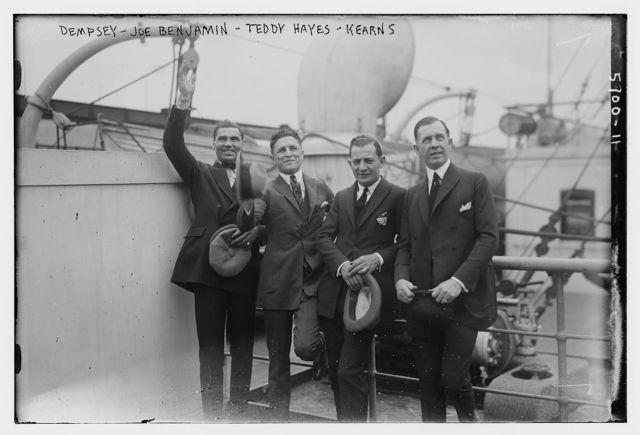 Dempsey, Joe Benjamin, Teddy Hayes and Kearns