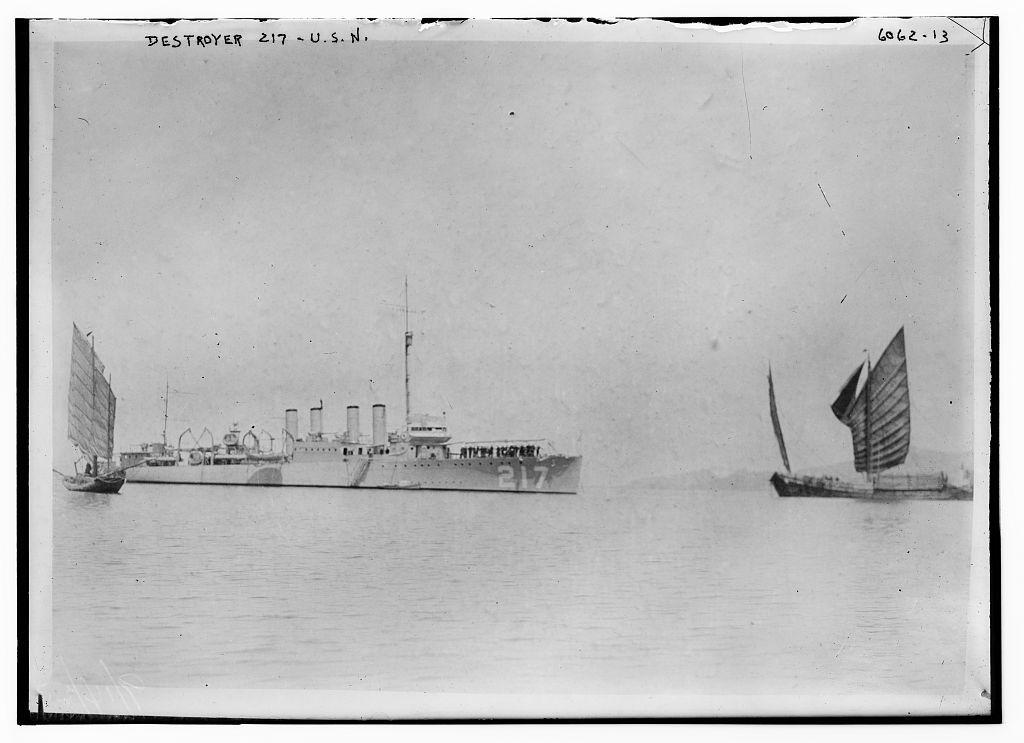 Destroyer 217 - USN