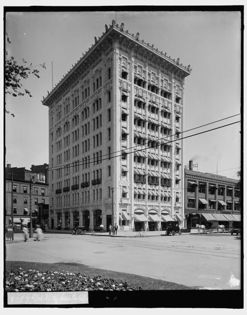 Det[roit] City Gas Co. office, [Detroit, Mich.]