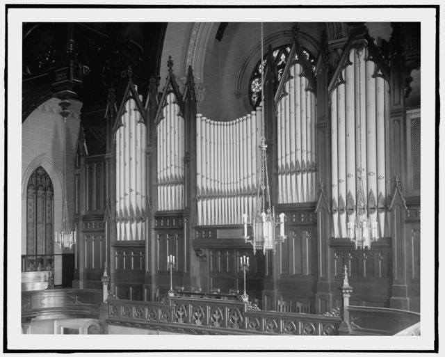 [Detroit, Mich., organ at Fort St. Presbyterian Church]