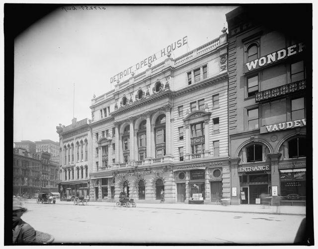 Detroit Opera House, Detroit, Mich.