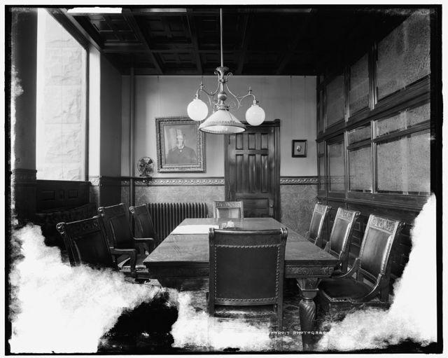 Dime Savings Bank, director's room