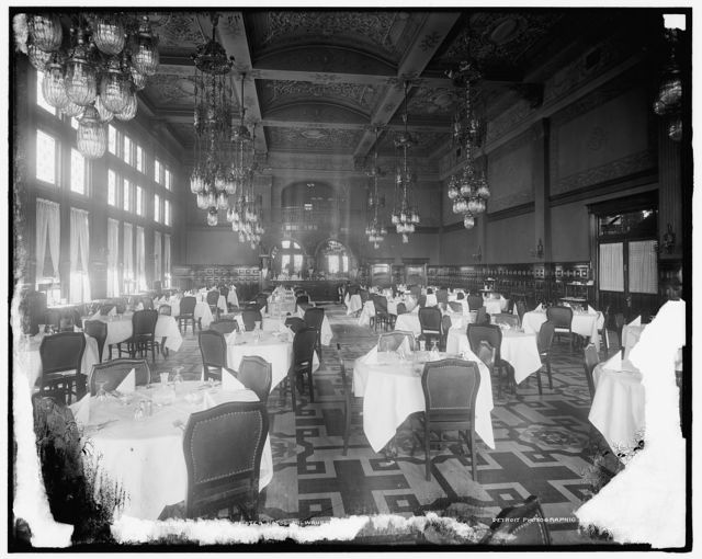 Dining room, Pfister Hotel, Milwaukee, Wis.