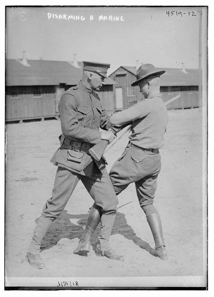 Disarming a Marine
