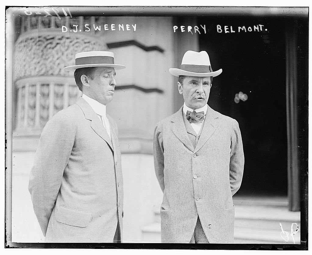 D.J. Sweeney and Perry Belmont