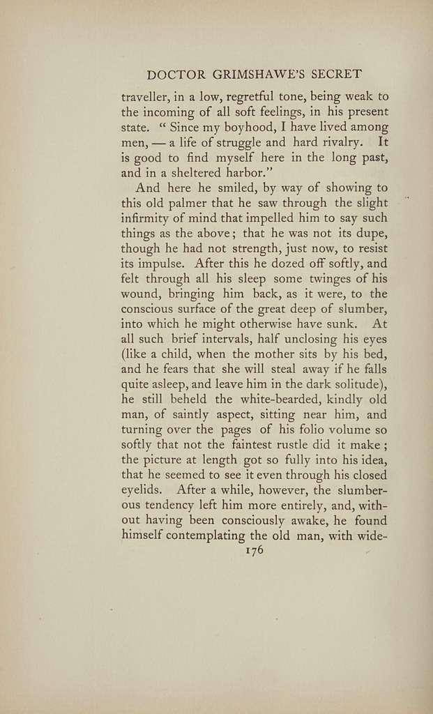 Doctor Grimshawe's secret : a romance