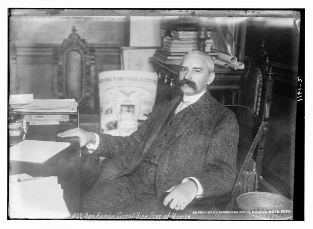 Don Raymon Corral, Vice President of Mexico