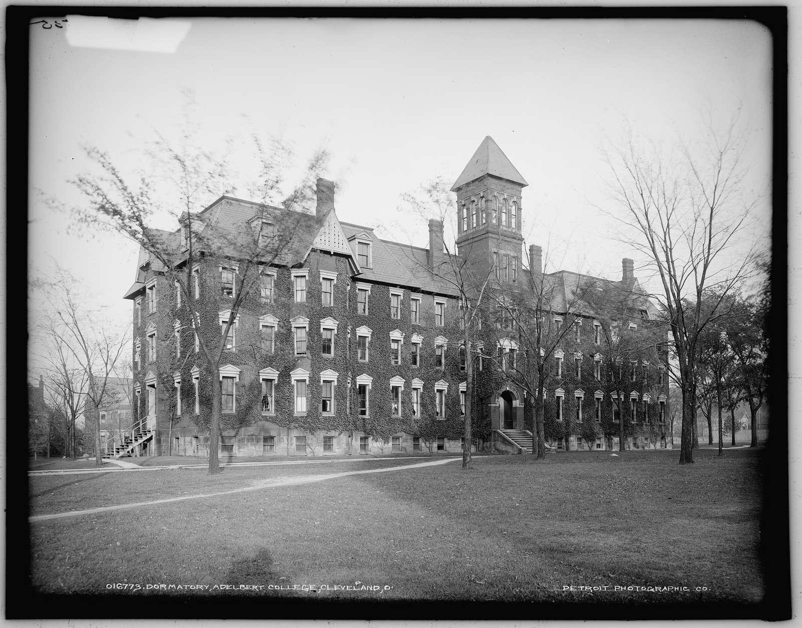 Dormatory sic, Adelbert College, Cleveland, Ohio
