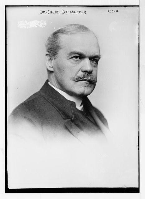 Dr. Daniel Dorchester, portrait bust