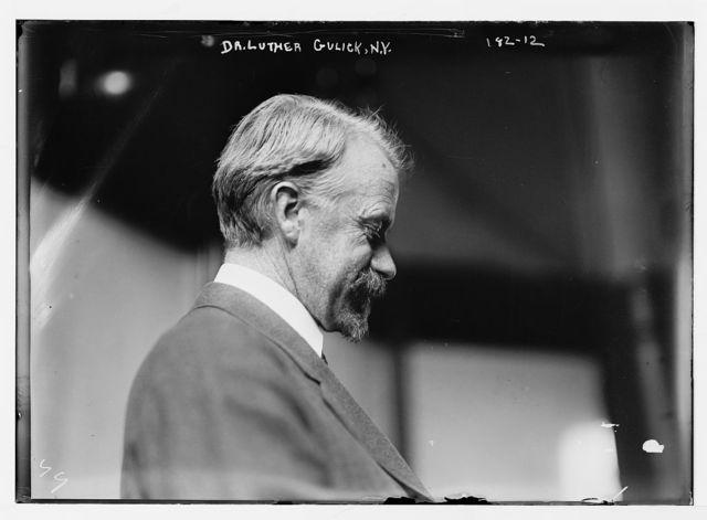Dr. Luther Gulick, N.Y., profile, N.Y.