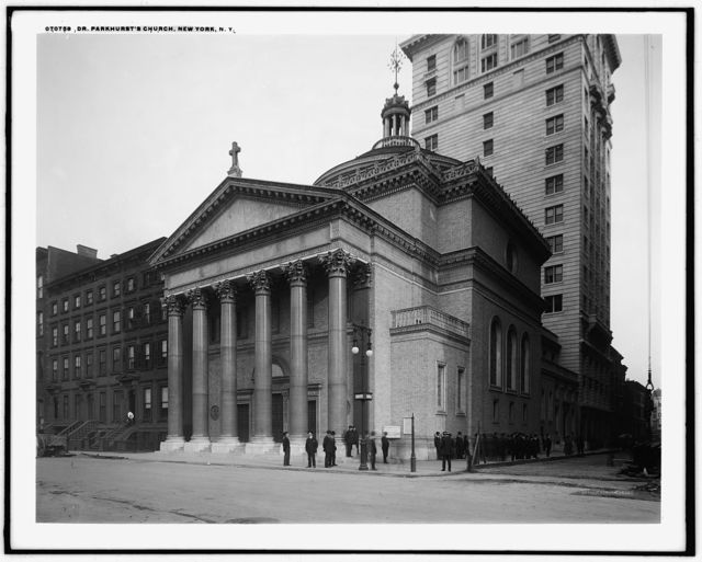 Dr. Parkhurst's [Madison Square Presbyterian] Church, New York, N.Y.