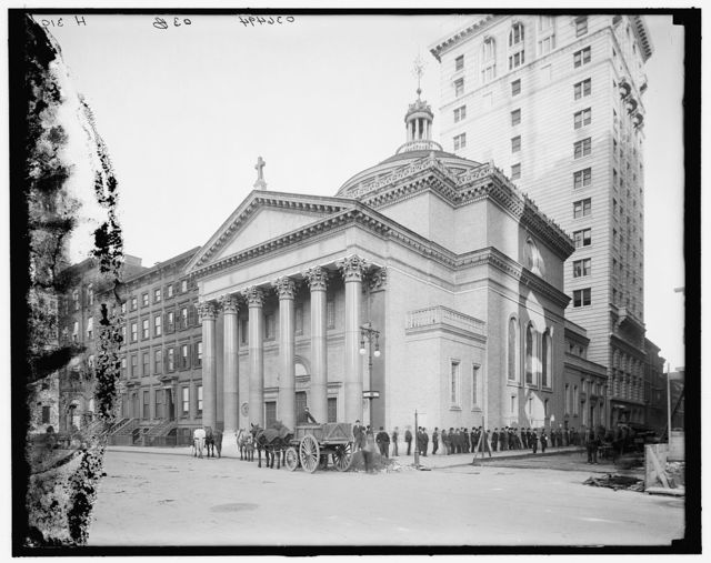 [Dr. Parkhurst's (Madison Square Presbyterian) church, New York, N.Y.]