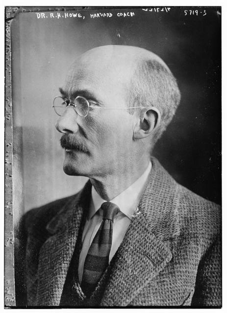 Dr. R.H. Howe, Harvard coach