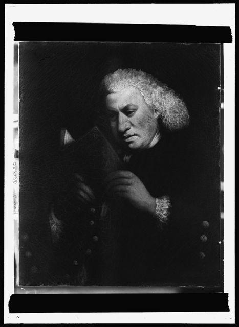 [Dr. Samuel Johnson, half-length portrait]