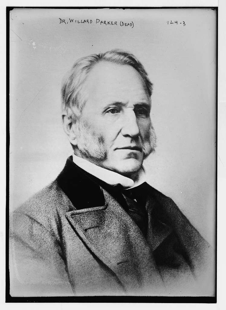 Dr. Willard Parker, portrait bust