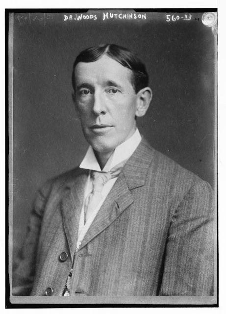 Dr. Woods Hutchinson,  portrait bust