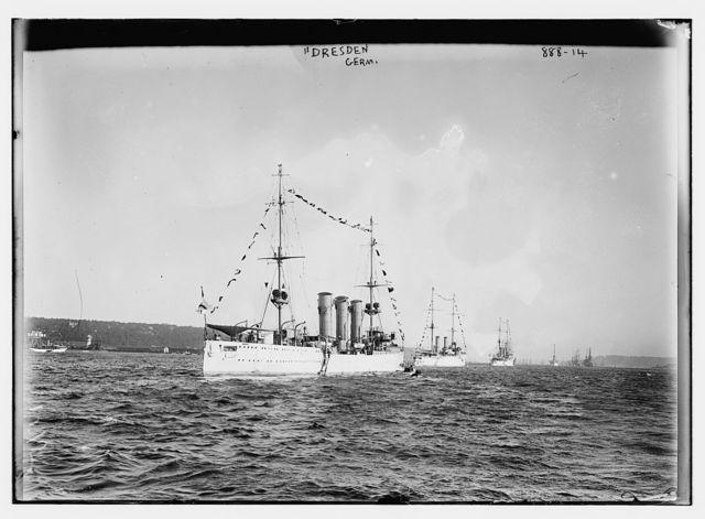 Dresden, German vessel