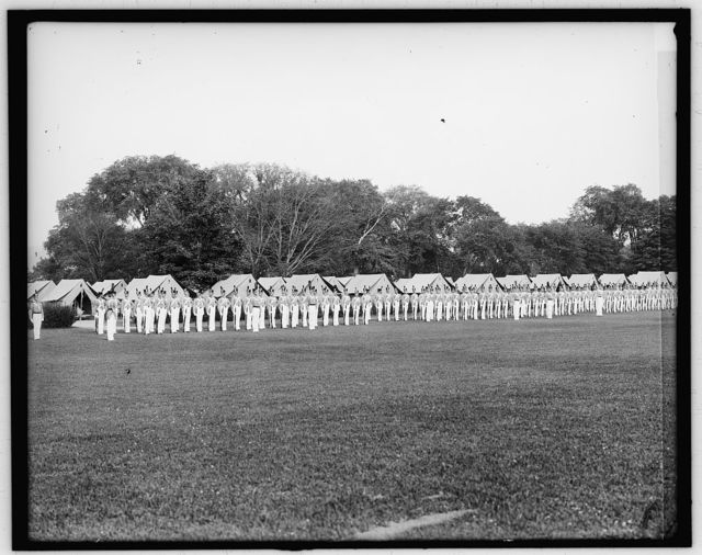 [Dress parade, West Point, N.Y.]