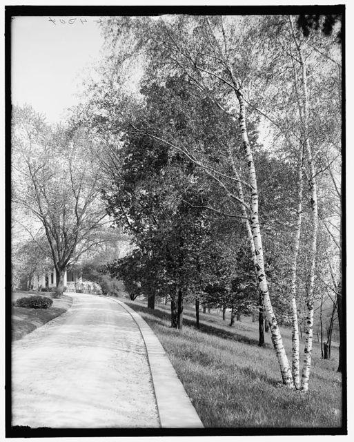 Driveway, Walnut Hills, Cincinnati, Ohio