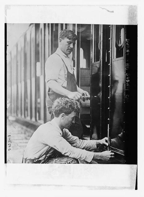 Dupont and his subway car