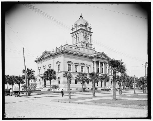 [Duval County court house, Jacksonville, Fla.]
