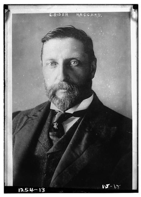 E. Rider Haggard