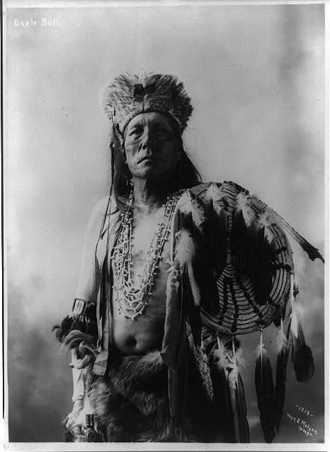 [Eagle Bull, half-length portrait, standing, facing front]