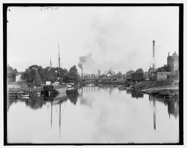 [Early morning on the Black River, Port Huron, Mich.]
