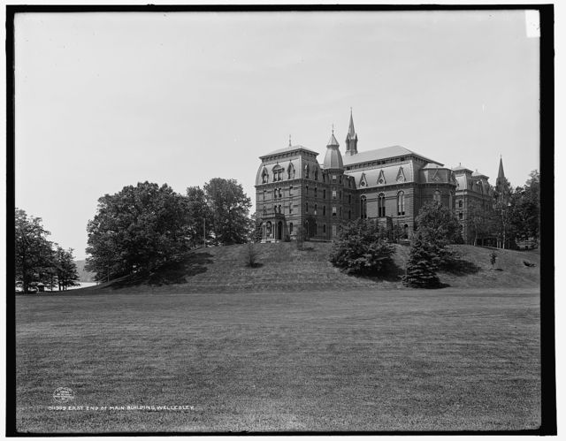 East end of main building, Wellesley