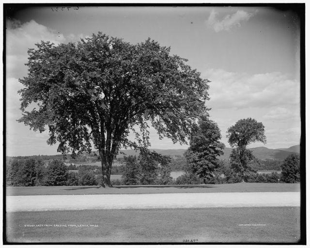 East from Erskine Park, Lenox, Mass.