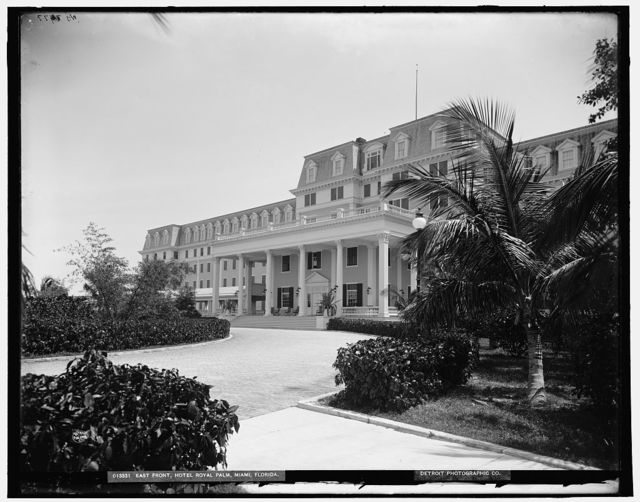 East front, Hotel Royal Palm, Miami, Florida