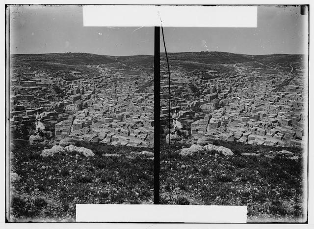 East of the Jordan and Dead Sea. Es-Salt (Ramoth Gilead)